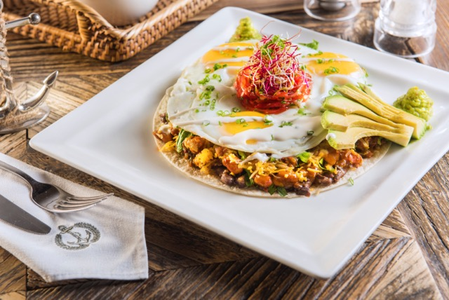 The Hamptons Tostada