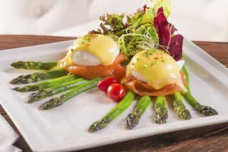 Asparagus and Egg