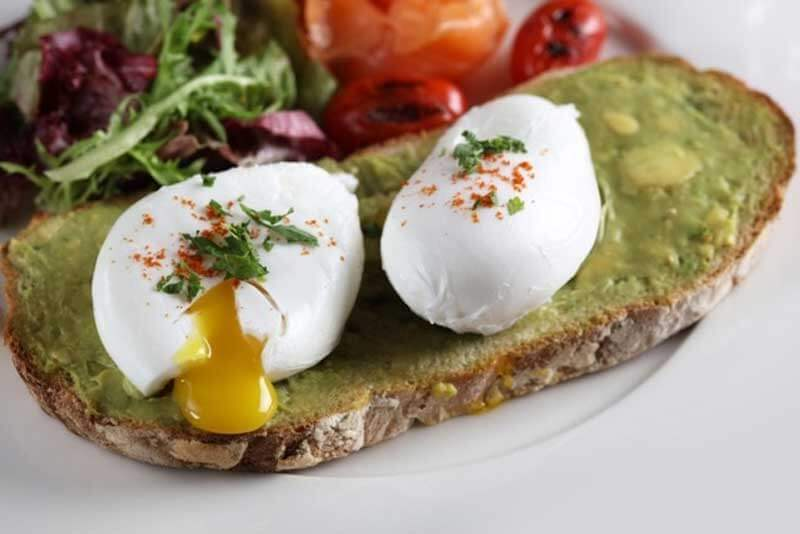 Avocado and Egg Crostini