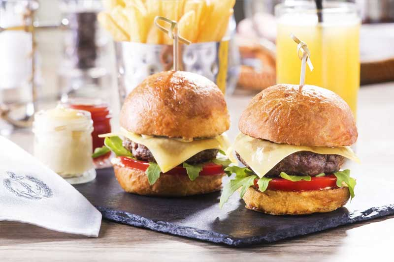 Kids Slider Burger