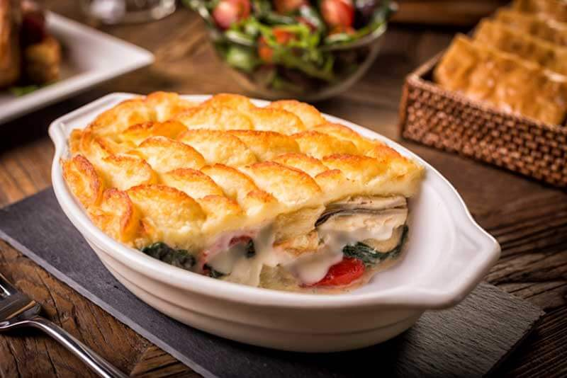 East Hampton Seafood Pie