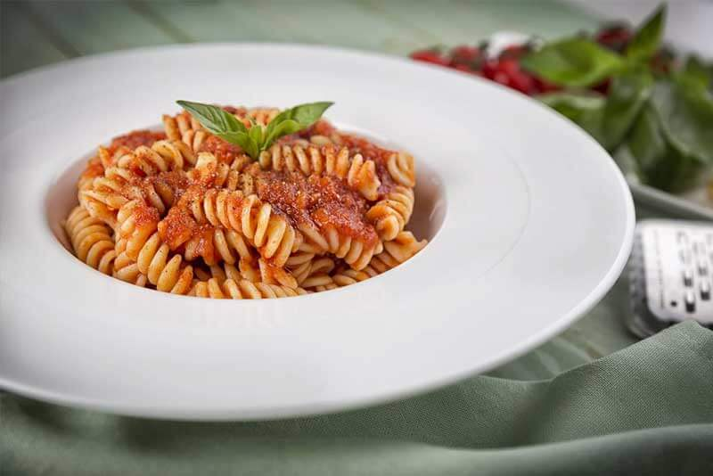 Fusilli with Your Choice of Sauce