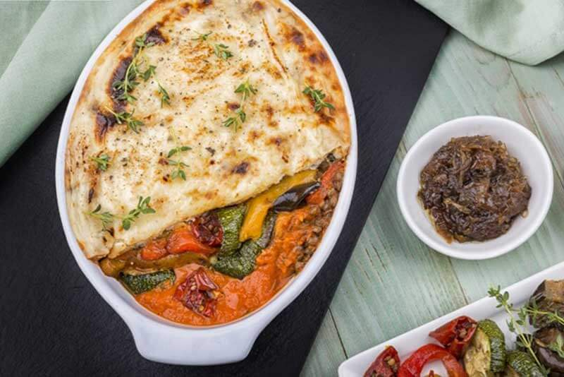 Vegetable & Lentil Moussaka