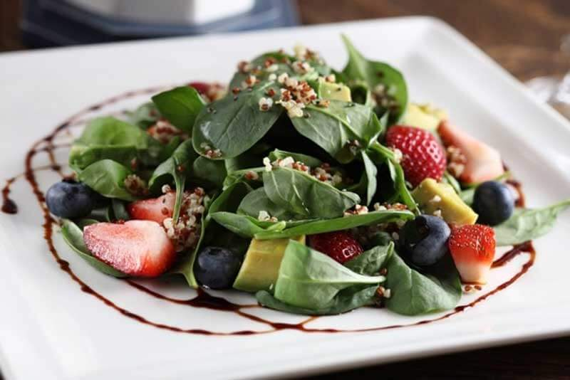 Quinoa Salad With Strawberry
