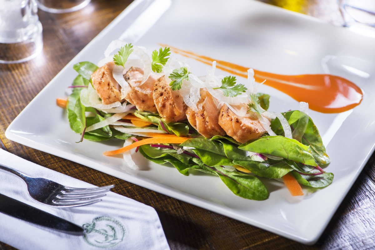 Zesty Salmon Salad
